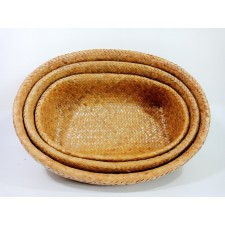 Oval basket kajood