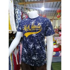 Lanta shirt dark blue 2 cotton fashion