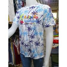 Lanta shirt 2tone cotton fashion